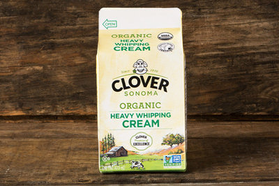 Thumb 400 clover organic heavy whipping cream pint
