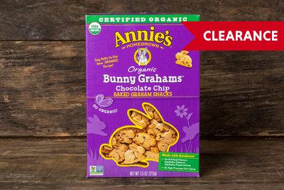 Thumb 400 annie s homegrown bunny grahams chocolate chip 7 5 oz