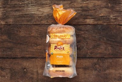 Thumb 400 rudis organic bakery plain bagels 5 count 15 oz