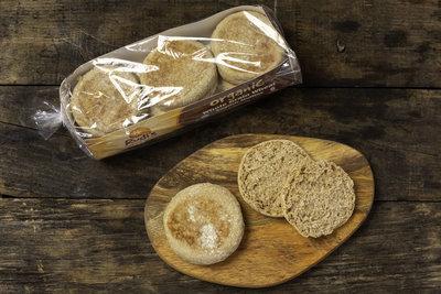 Thumb 400 rudis organic bakery organic whole grain wheat english muffins 12 oz